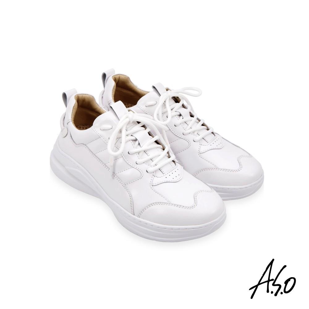 A.S.O 勁步健康綁帶休閒鞋