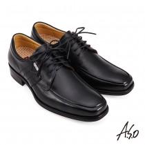 A.S.O 勁步健康綁帶德比紳士鞋