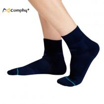【康飛加】運動透氣短襪-深藍